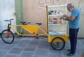 Bicicloteca do BookCrossing em Alegrete