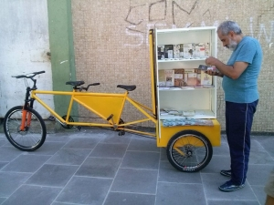Bicicloteca do BookCrossing em Alegrete