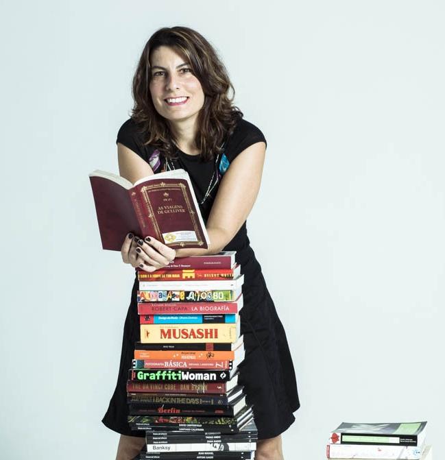 Helena Castello Branco, Coordenadora do BookCrossing Brasil