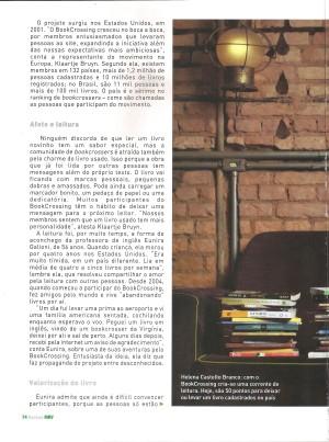 Helena Castello Branco, BookCrossing Brasil (3)