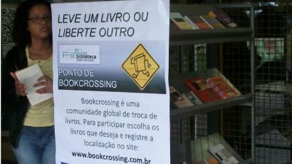 Unesp cria ponto de BookCrossing em Rio Claro