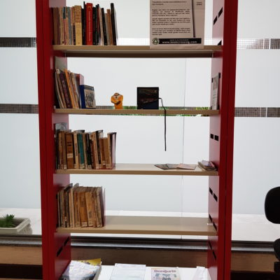Biblioteca da PRSC cria o primeiro Ponto de BookCrossing no MPF